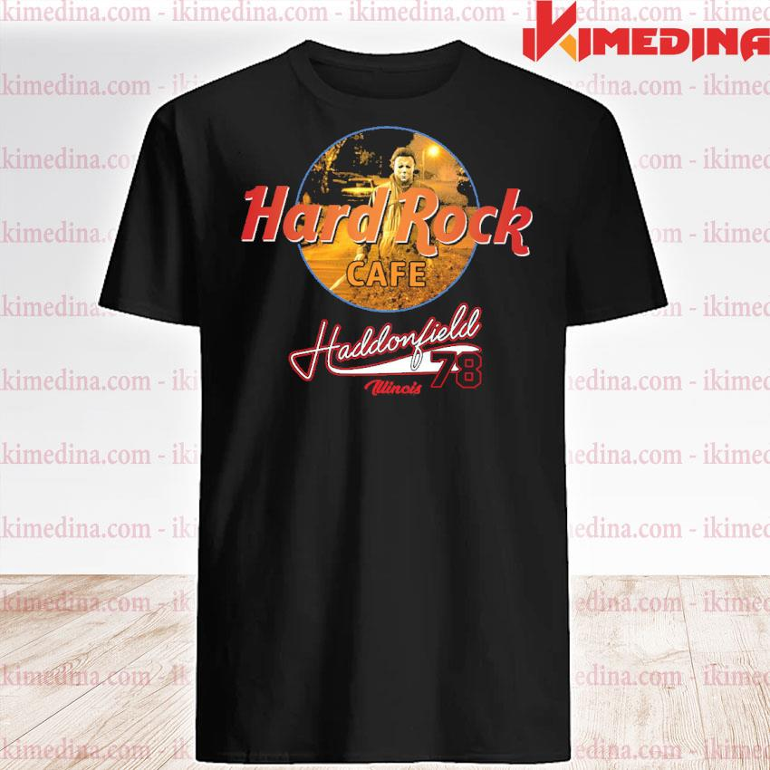 Official hard rock cafe haddonfield 78 shirt