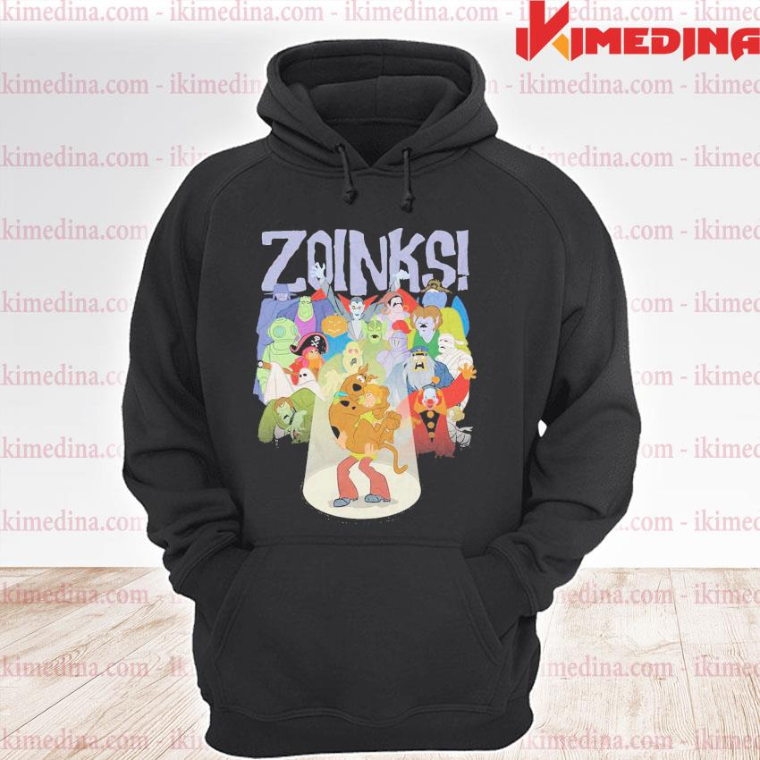 Official zoinks shaggy and scooby-doo premium hoodie