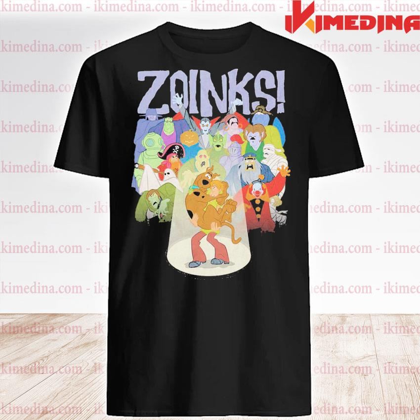 Official zoinks shaggy and scooby-doo shirt