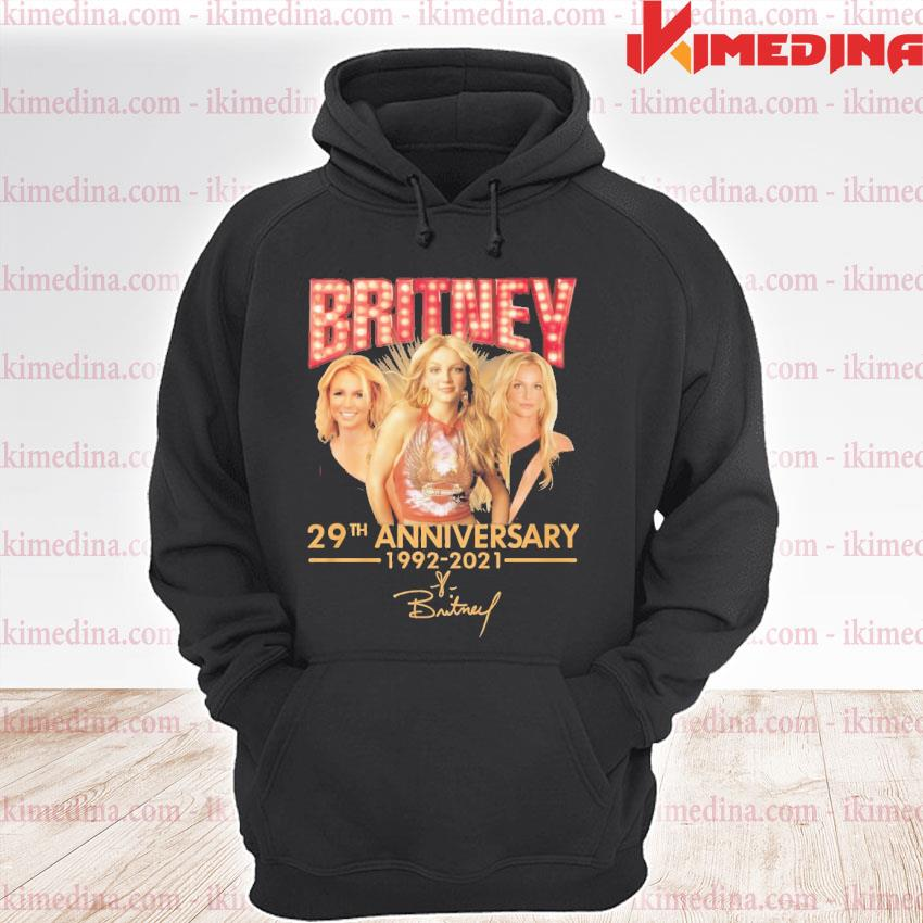 Official britney 29th anniversary 1992 2021 premium hoodie
