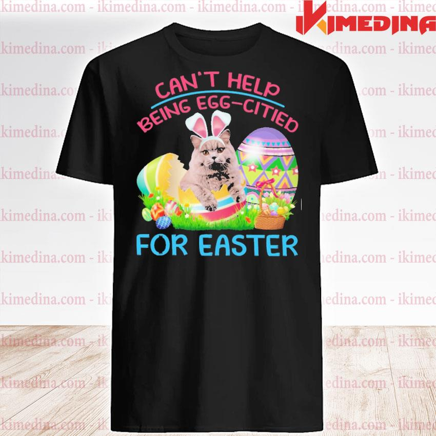 Official can't help being eggcited for easter shirt