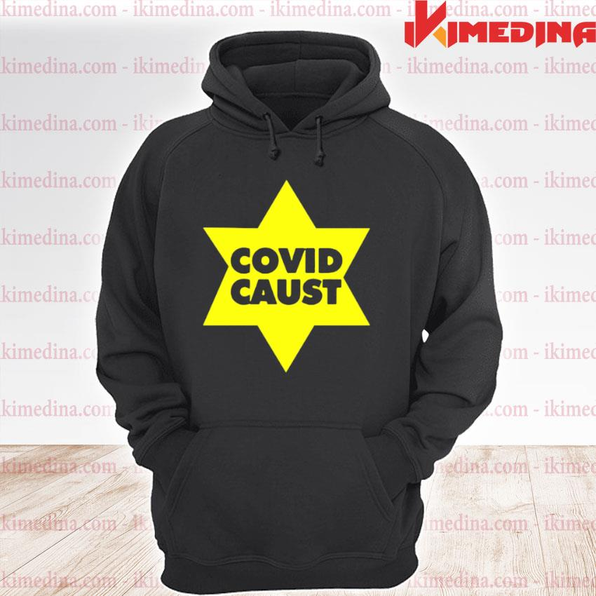Official covid caust star premium hoodie