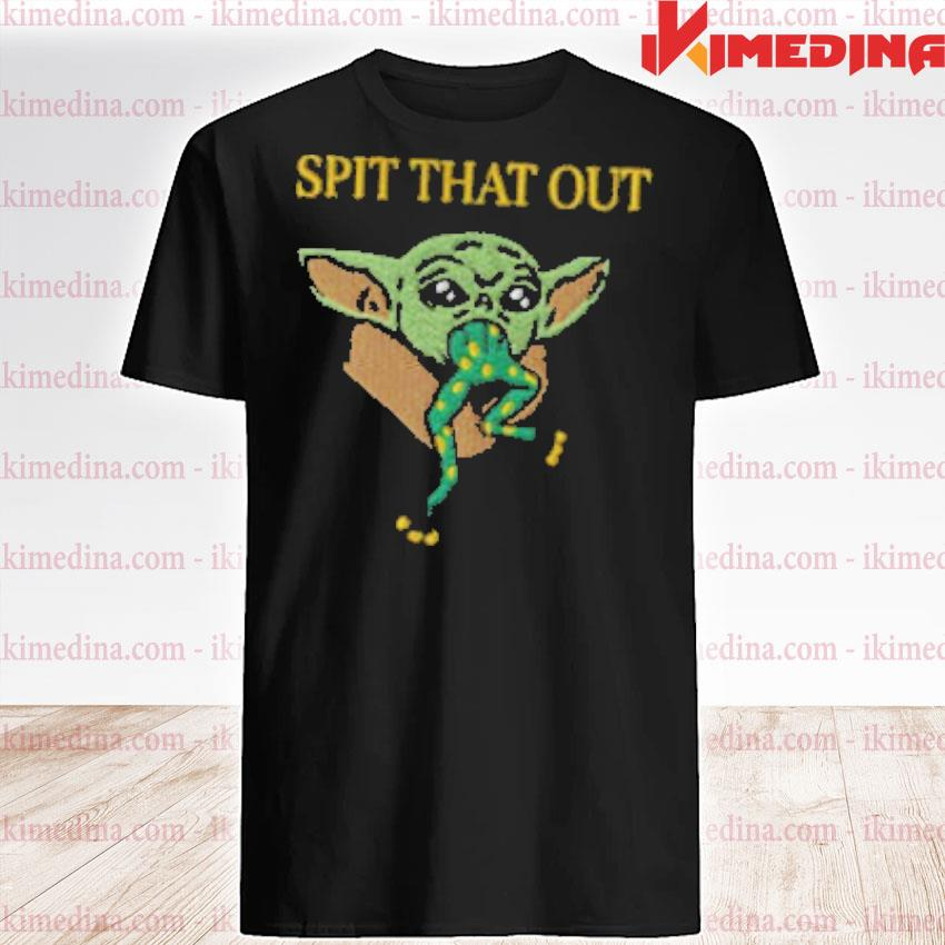Official embroidered baby yoda shirt