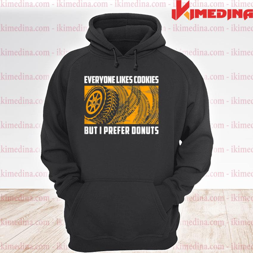 Official i prefer donuts racing racecar drift car enthusiast premium hoodie
