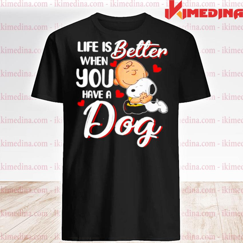 Official life is better when you have a dog shirt