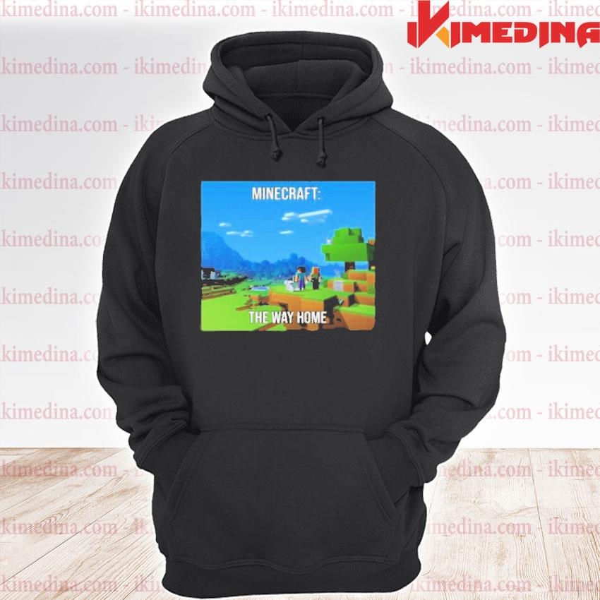 Official minecraft the way home premium hoodie