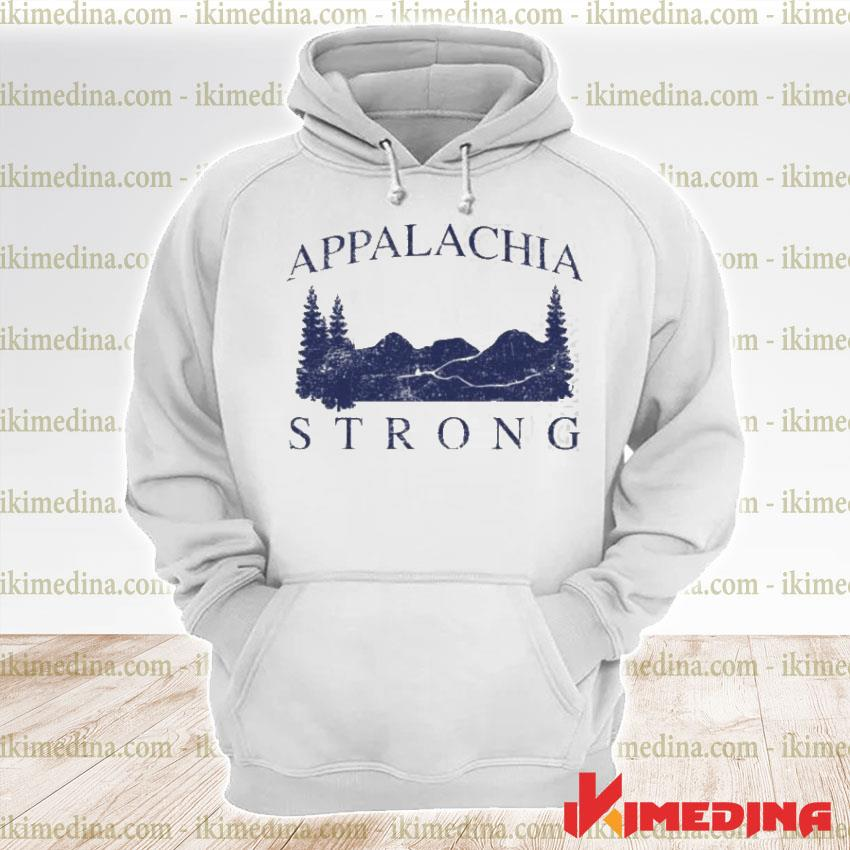 Official mountain appalachia strong premium hoodie