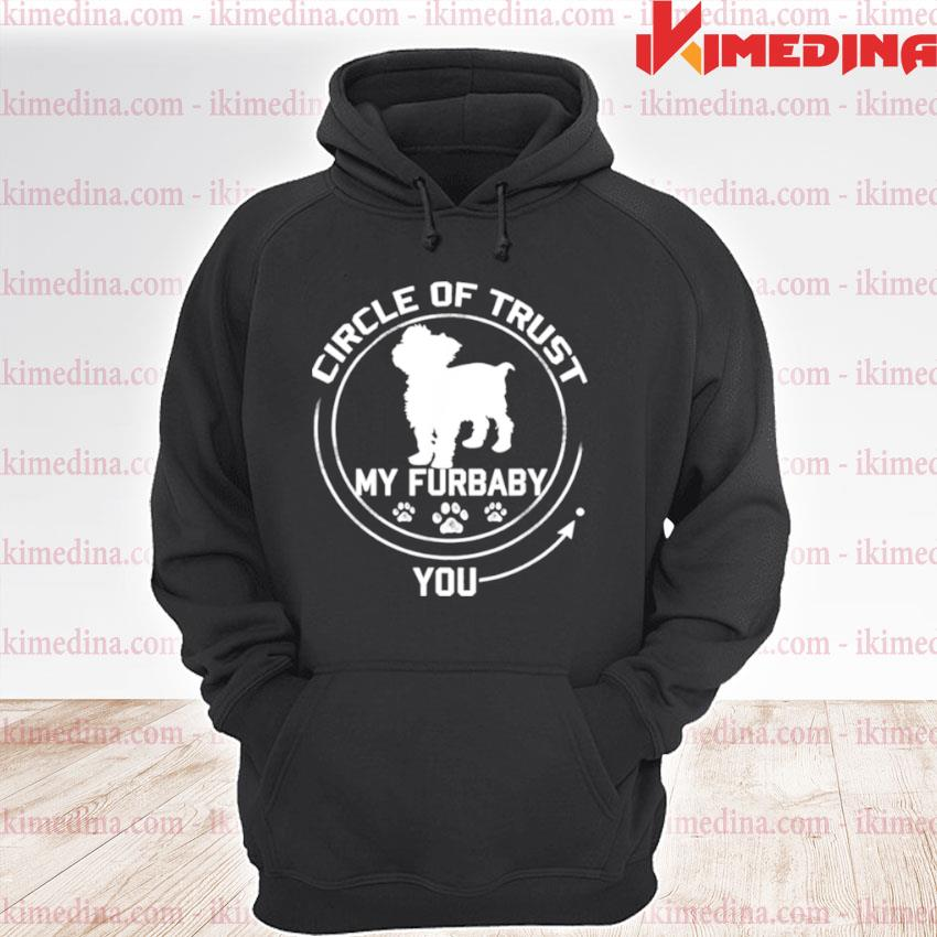 Official my furbaby circle of trust yorkshire terrier dog premium hoodie