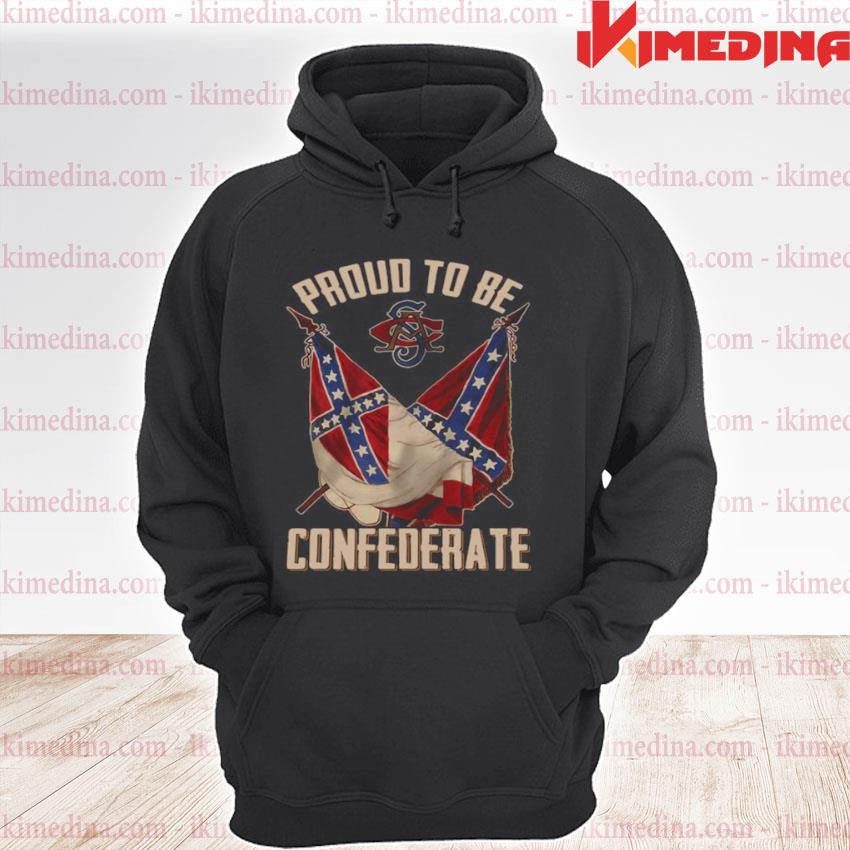 Official proud to be confederate premium hoodie