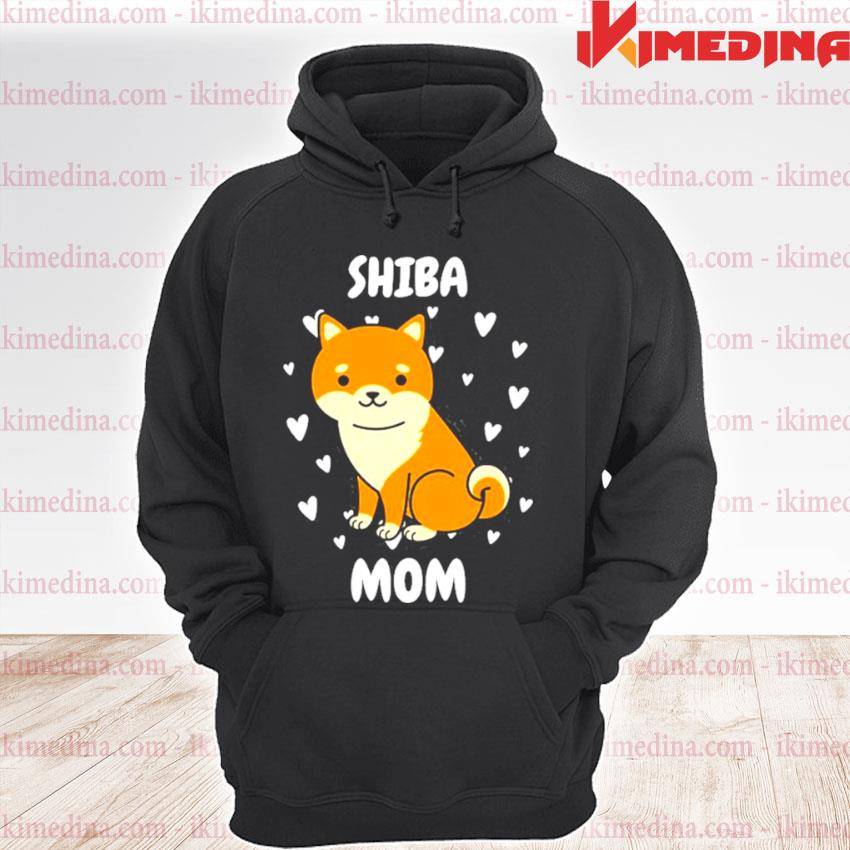 Official shiba mom mummy mama mum mommy mother's day mother premium hoodie