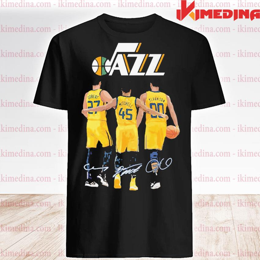 Official utah jazz gobert and mitchell and clarkson 2021 shirt