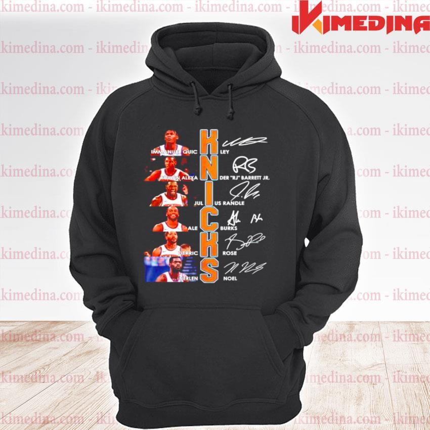 Knicks best players signature premium hoodie
