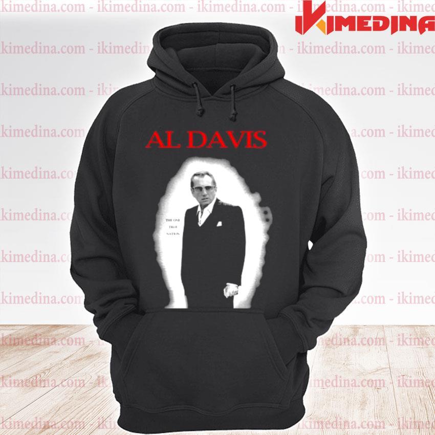 Al Davis The One True Nation Shirt premium hoodie