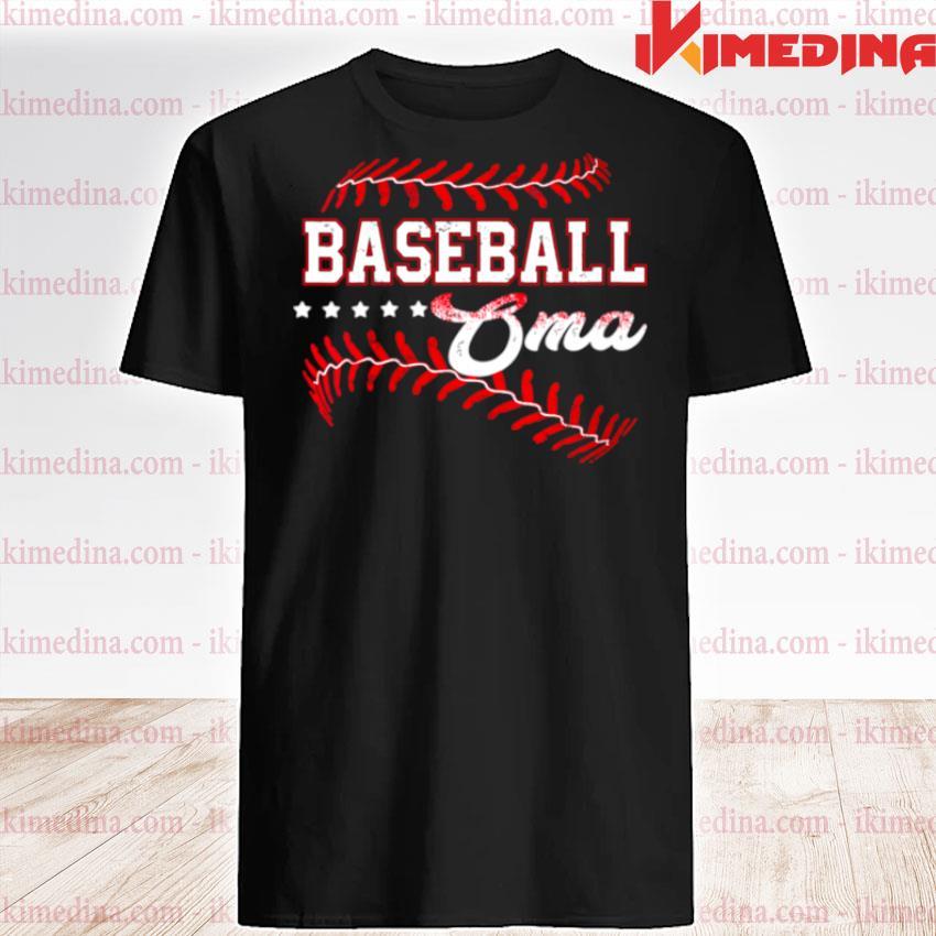 Baseball Oma Baseball Oma Mothers Day shirt