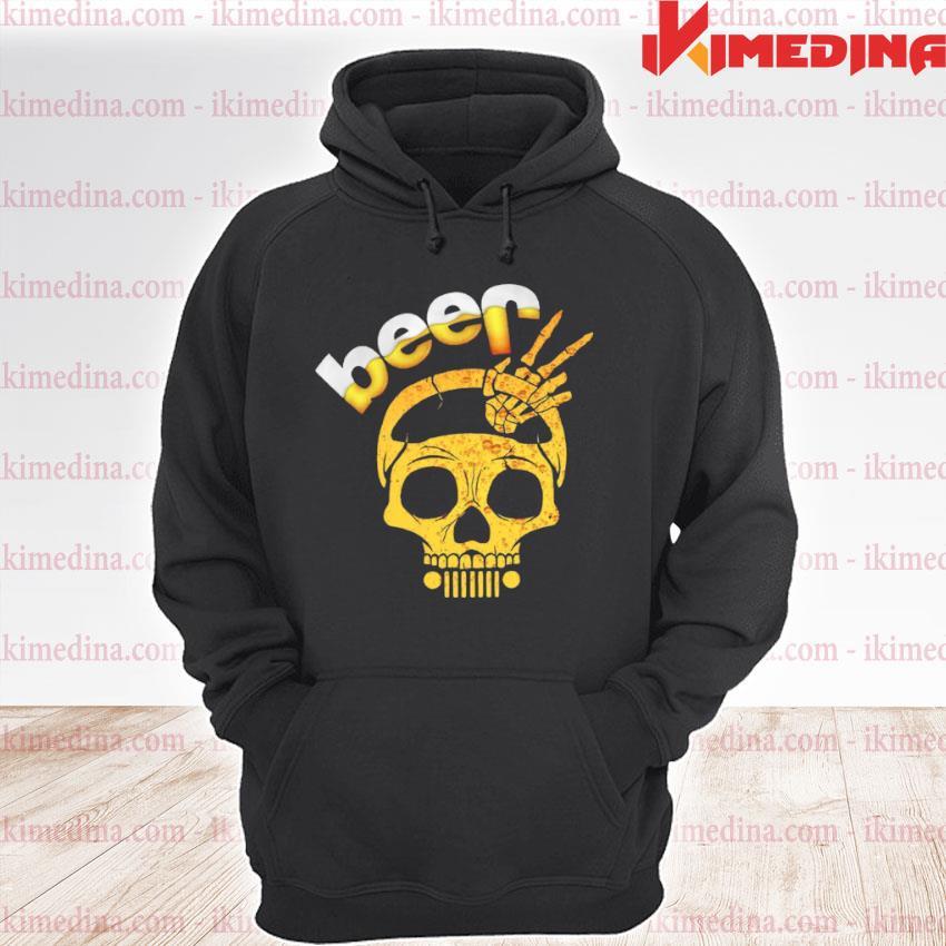 Beer Skull premium hoodie