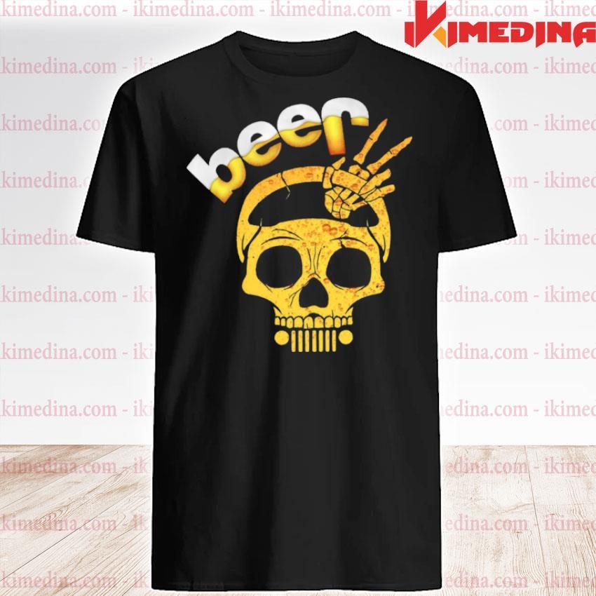 Beer Skull shirt