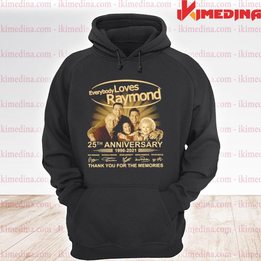 Every Loves Raymond 25th anniversary 1996 2021 thank you for the memories signatures premium hoodie