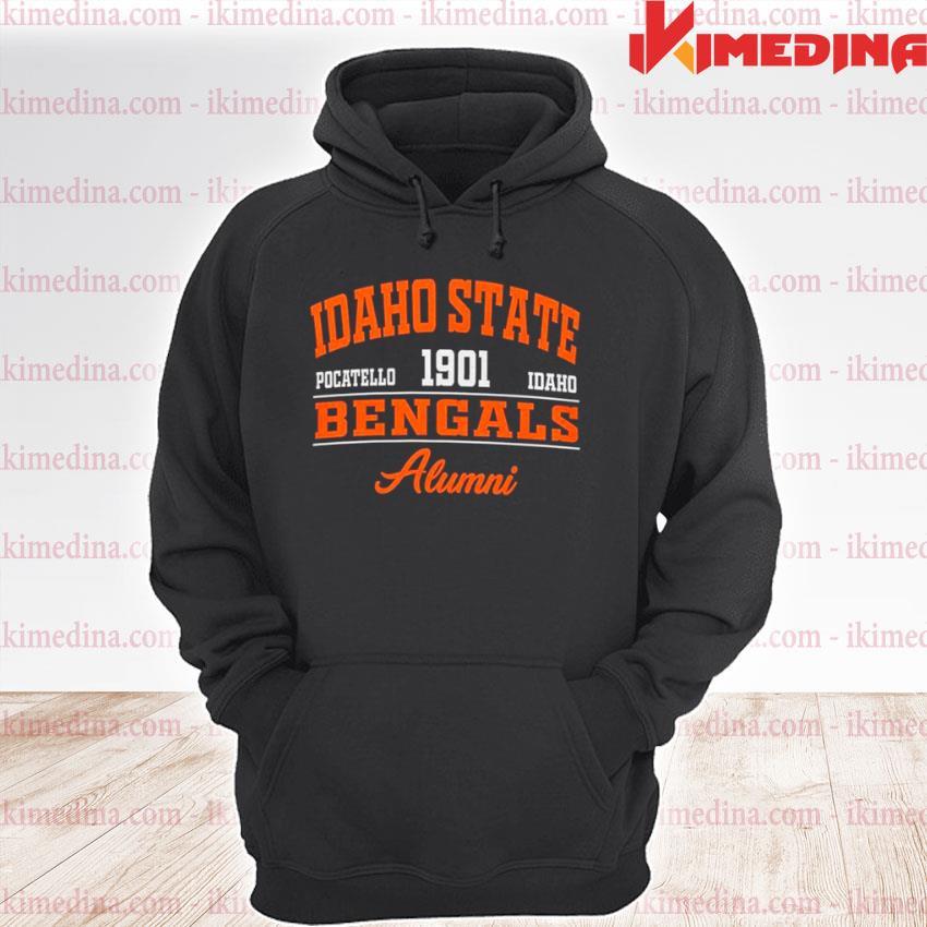 Idaho State Pocatello 1901 Idaho Bengals Alumni premium hoodie