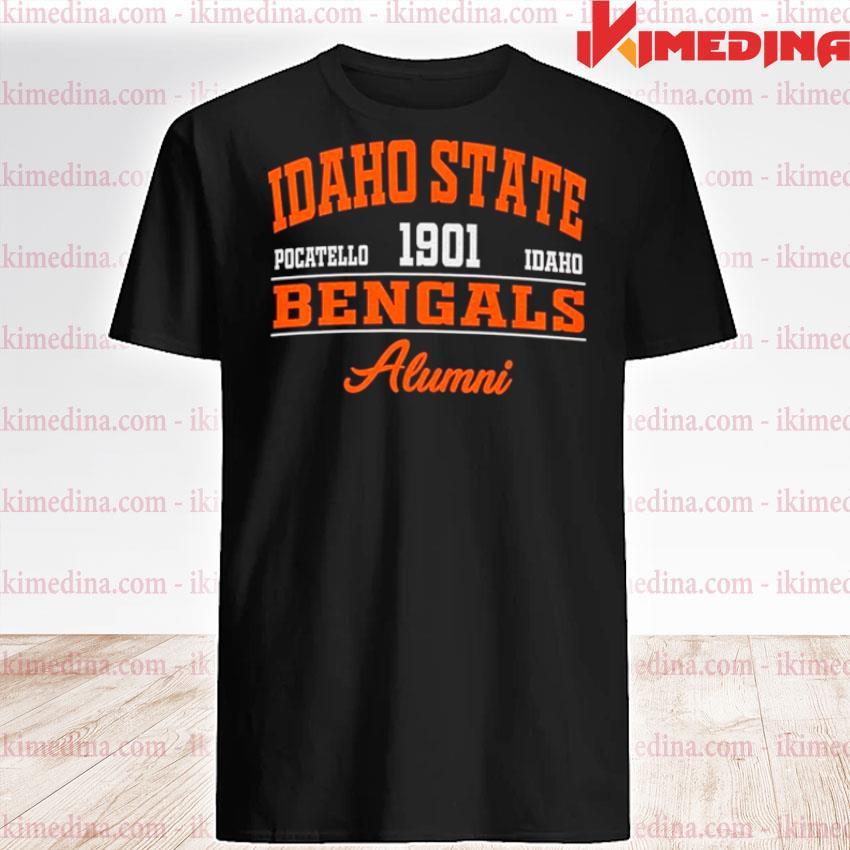 Idaho State Pocatello 1901 Idaho Bengals Alumni shirt