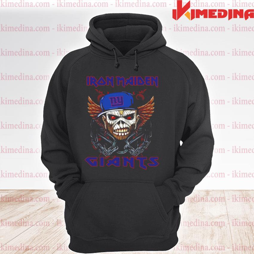 Iron Maiden Skull New York Giants 2021 premium hoodie