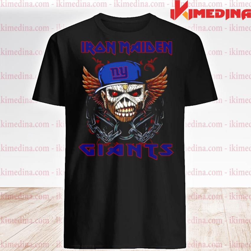 Iron Maiden Skull New York Giants 2021 shirt