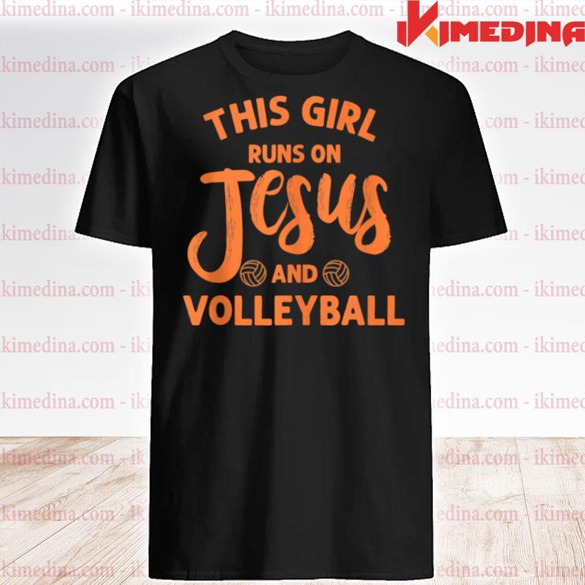 Jesus Volleyball For Girls Mom Athleten Youth shirt