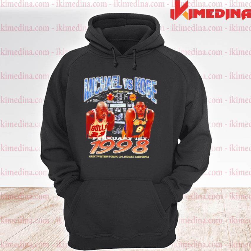 Michael Bryant Los Angeles Laker vs Chicago Bulls premium hoodie