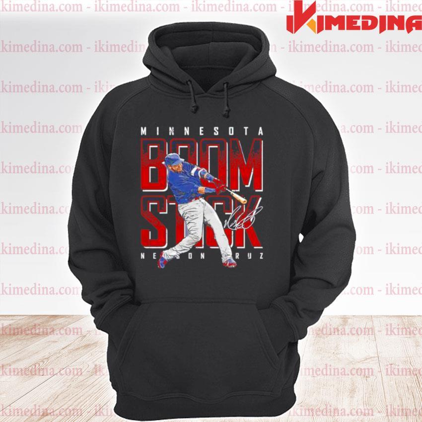 Minnesota Baseball Nelson Cruz Boomstick signature premium hoodie