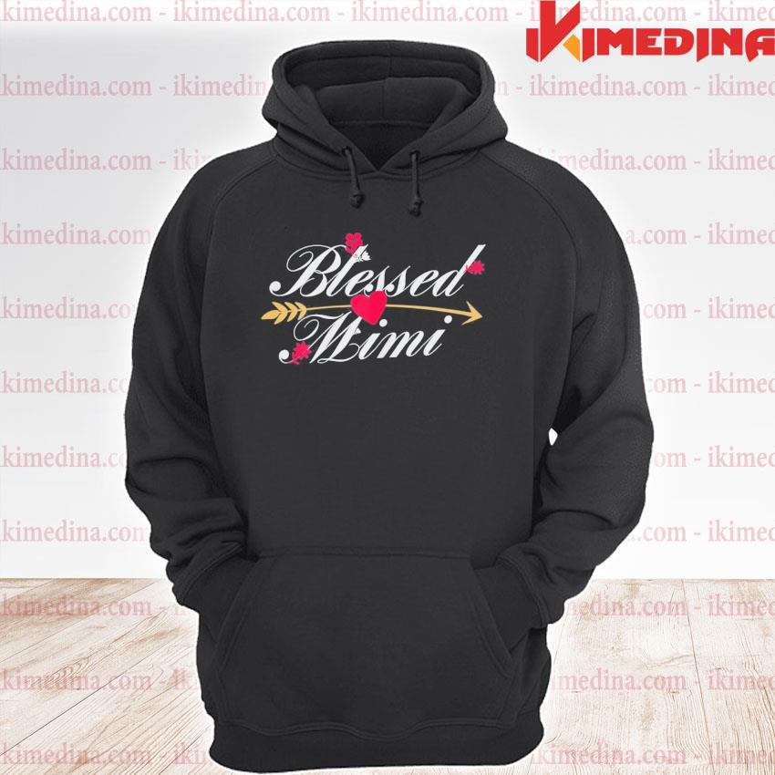 Official blessed mimi mothers day grandma birthday premium hoodie