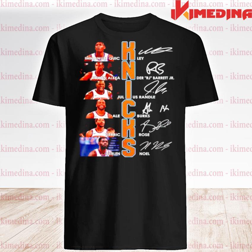Knicks best players signature shirt