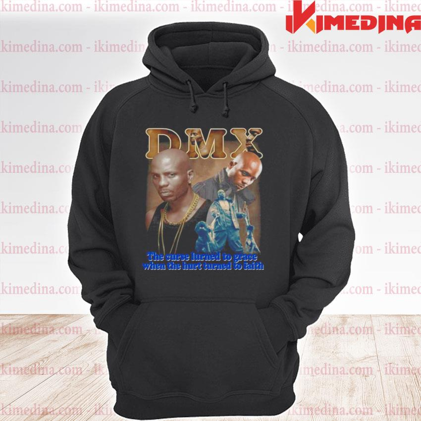 Rip DMX The Curse Learned To Grace When The Hurt Learned To Faith premium hoodie
