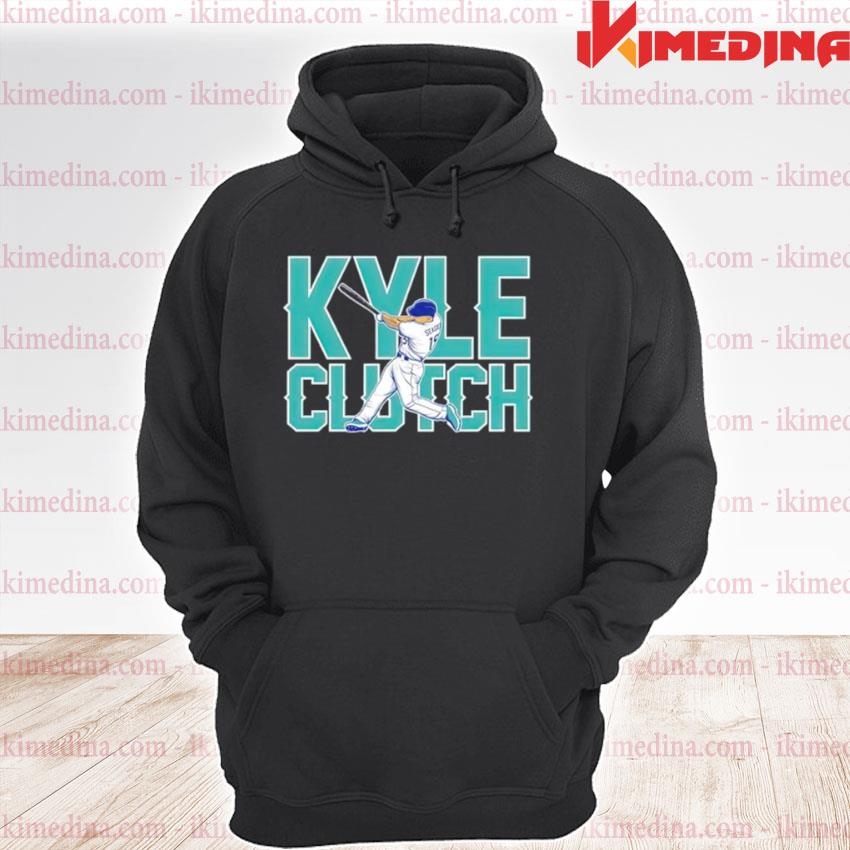 Seattle Mariners Kyle Seager playing premium hoodie