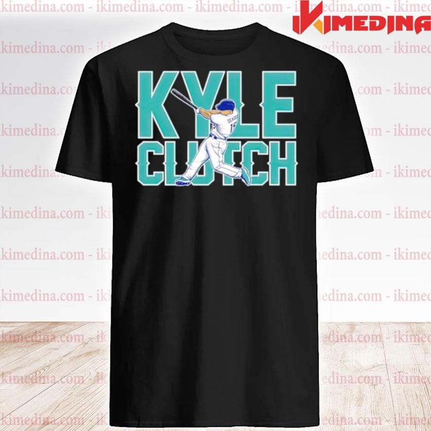 Seattle Mariners Kyle Seager playing shirt