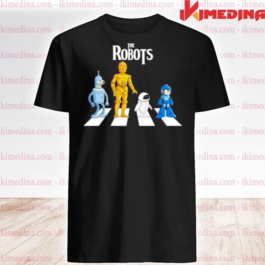 Star Wars The Robots Abbey Road shirt