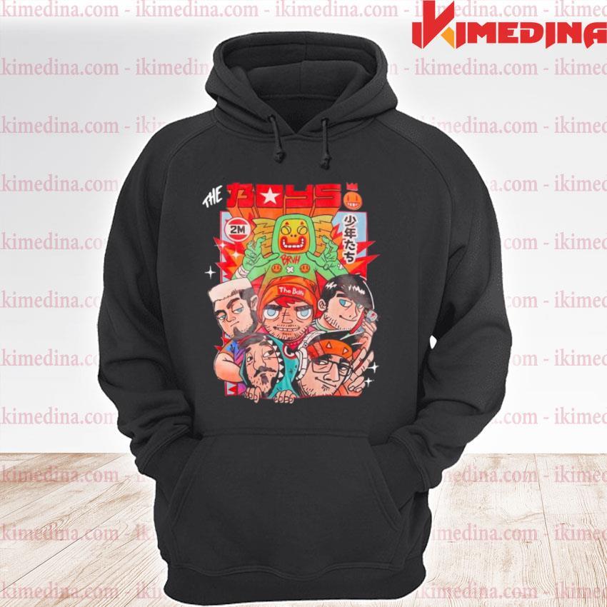 the boys 2 million subs premium hoodie