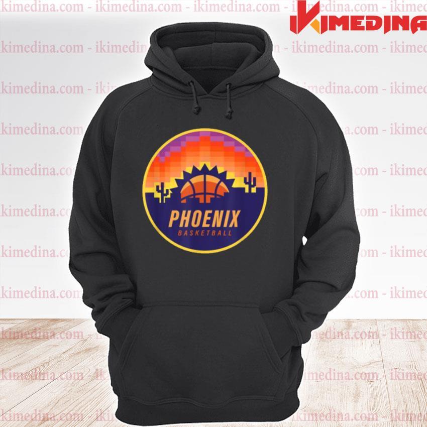 The Valley Pixel Sun Rise Phoenix Arizona Basketball Shirt premium hoodie