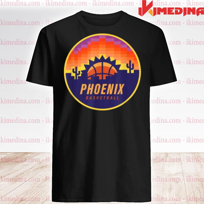The Valley Pixel Sun Rise Phoenix Arizona Basketball Shirt