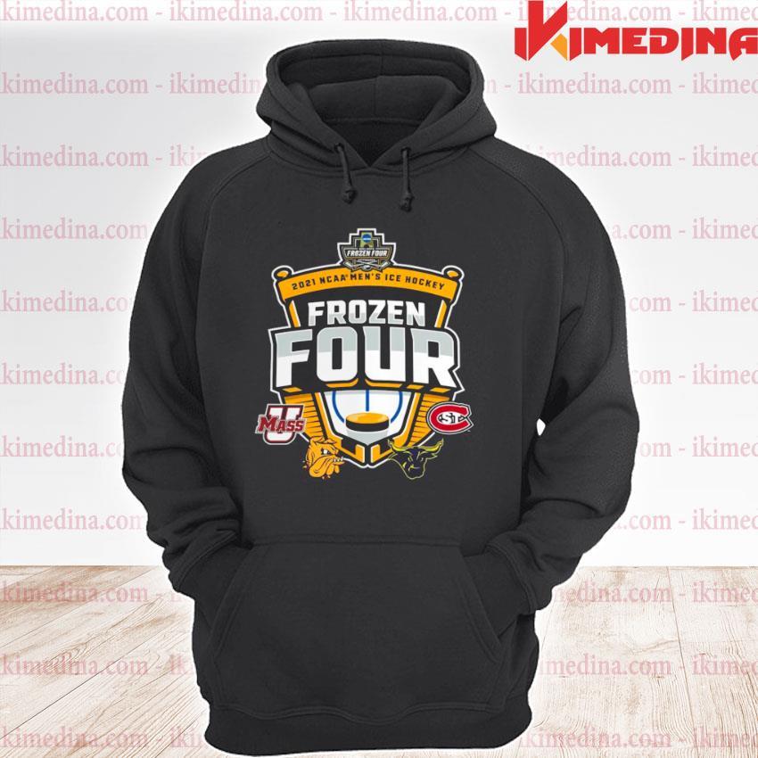 Umass Minutemen Vs St Cloud State 2021 NCAA Men's Ice Hockey Frozen Four premium hoodie