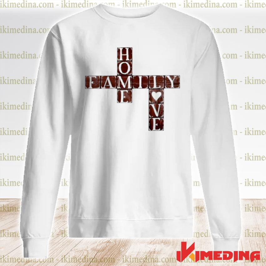 Woos Crossword home family love premium sweater