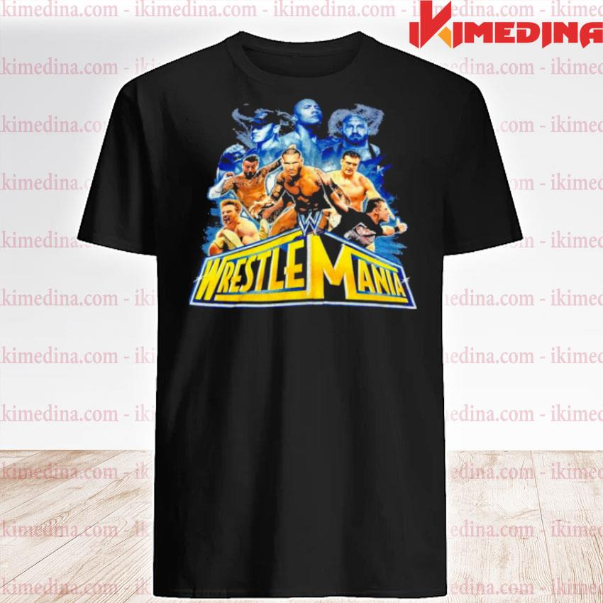 Wrestlemania 2021 wwe fan shirt