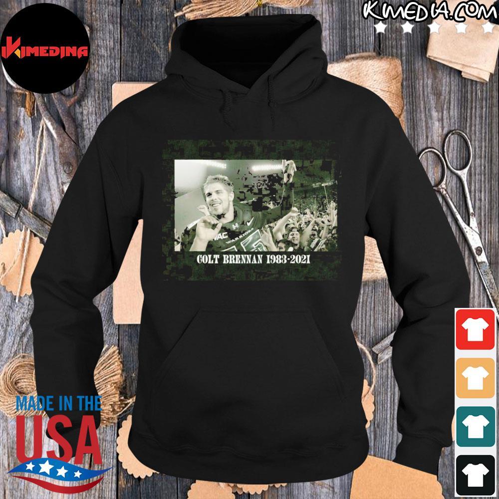 Colt Brennan 1983-2021 RIP COLT #15 Thank You For All Memories hoodie-black