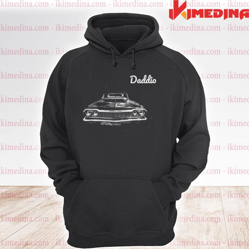 From Daughter Unique Hot Rod Daddio Shirt premium hoodie