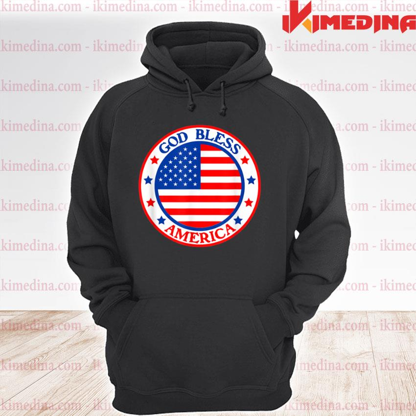 God Bless America Fourth of July Independence Day Festival Shirt premium hoodie