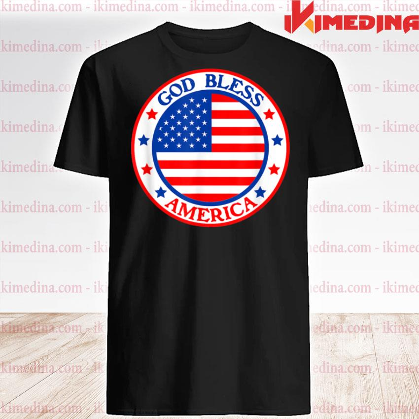 God Bless America Fourth of July Independence Day Festival Shirt