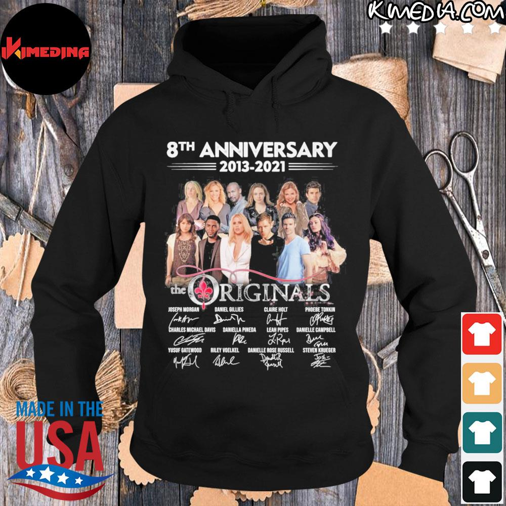 8th anniversary 2013 2021 the originals thank you for the memories s hoodie-black