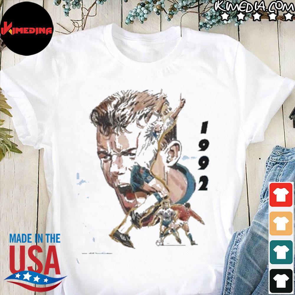 Alan shearer 1992 montage trevillion art shirt