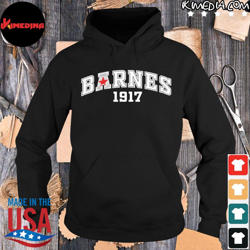 Barnes 1917 Shirt hoodie-black