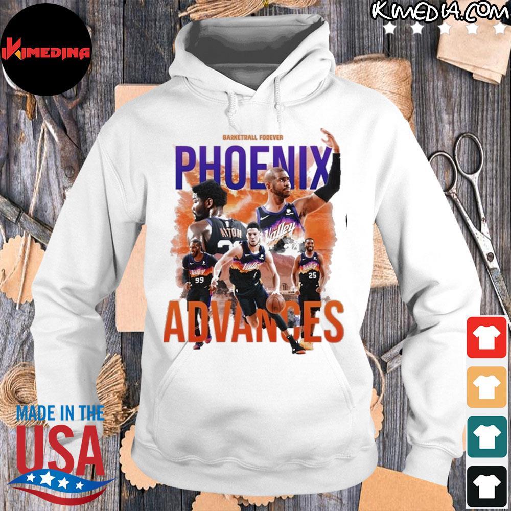 Basketball forever phoenix advances s hoodie-white
