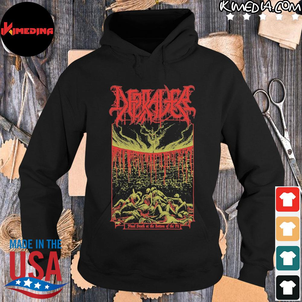 Final death at the bottom of the pit s hoodie-black