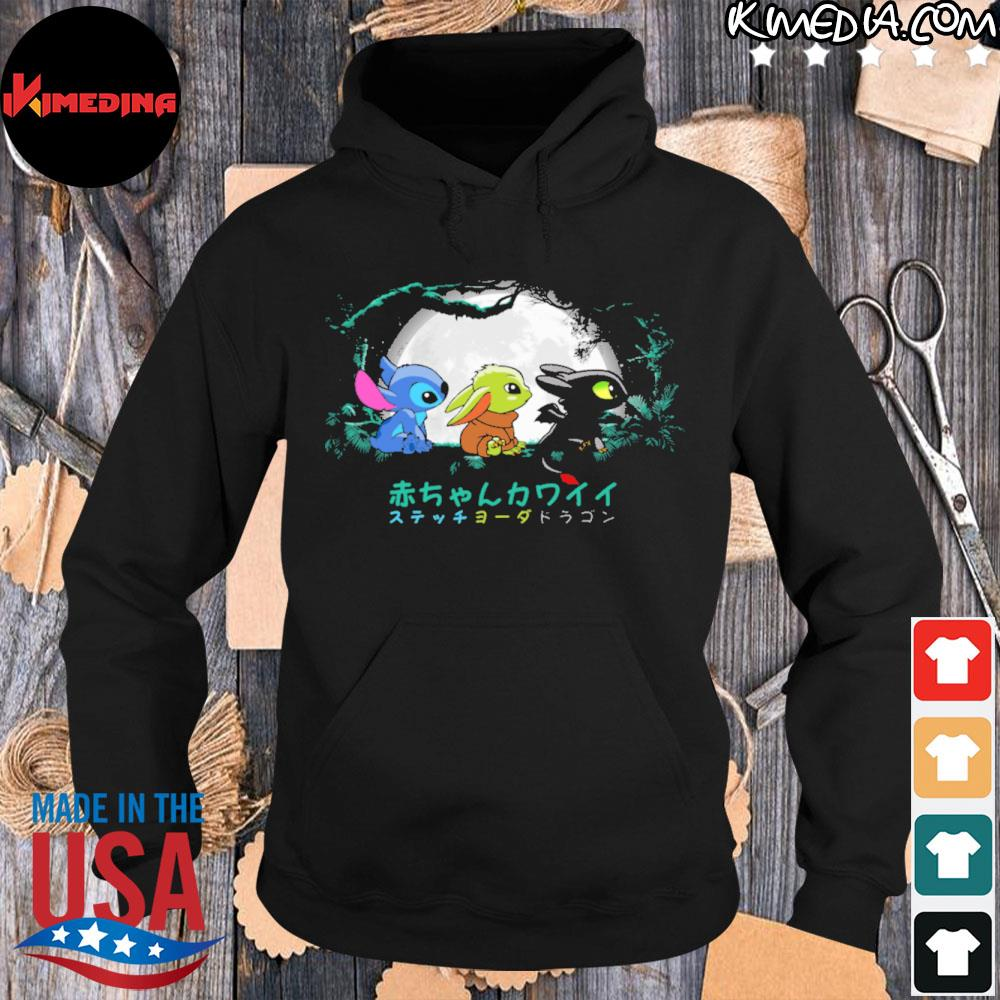 Official forest kawaiI Yoda s hoodie-black